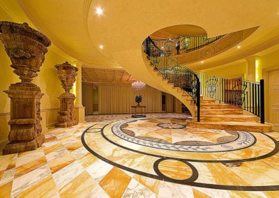 giallo-sienna-and-arabescato-marble-foyer