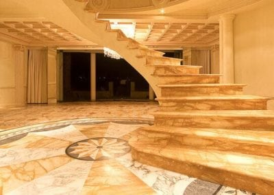 Giallo-sienna-marble-entry-foyer-and-staircase