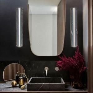 grigio perla bespoke custom vanity