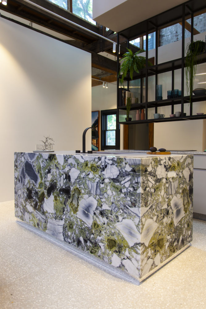 Mint-Green-marble-kitchen-island
