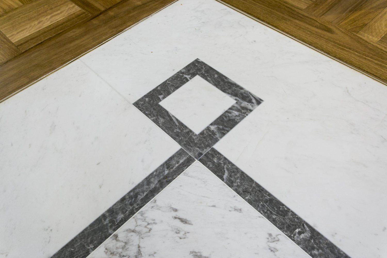Marble Pattern Floor Design