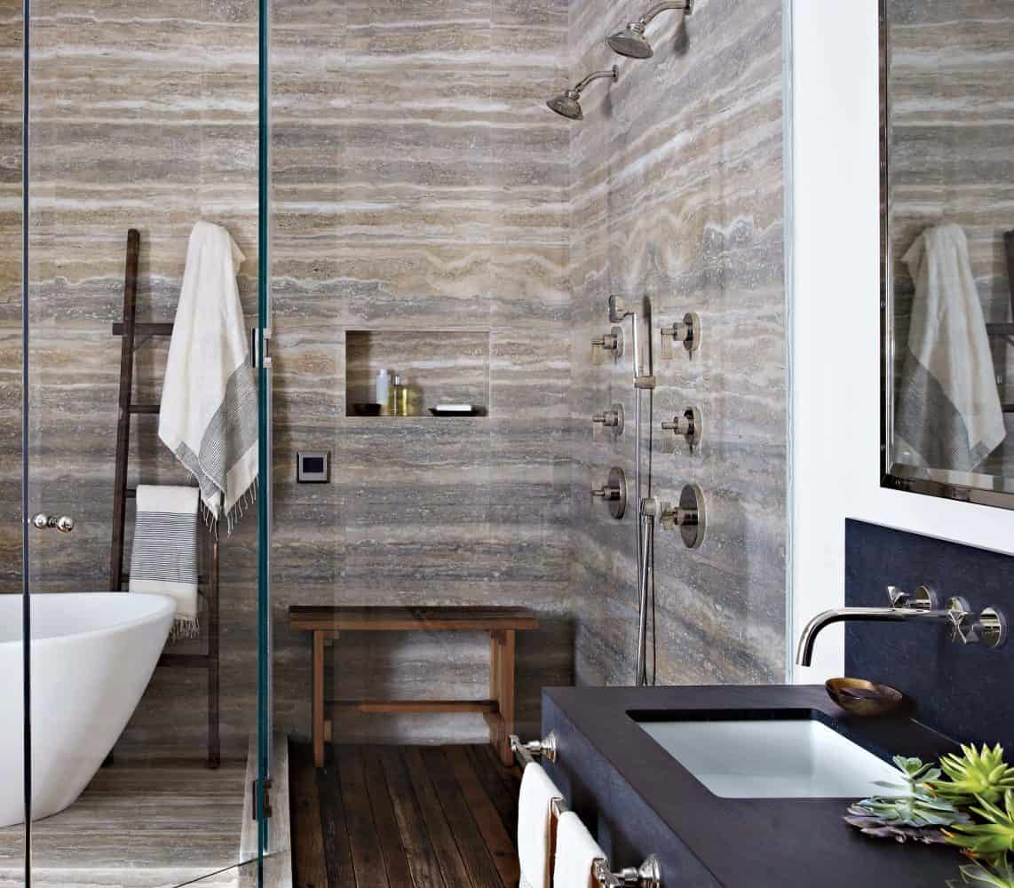 Bathroom Light Fixtures >> Silver Travertine: Now Available - Explore The Collection - Euro Marble