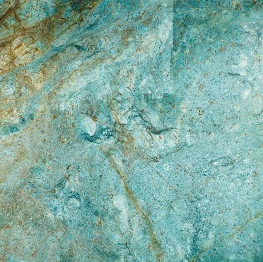 Turquoise Green Striking Turquoise Granite Boasts Golden