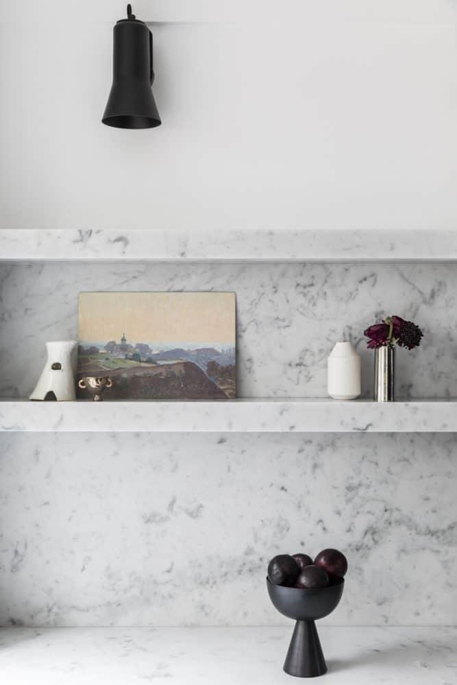 Carrara Kitchen Splashback