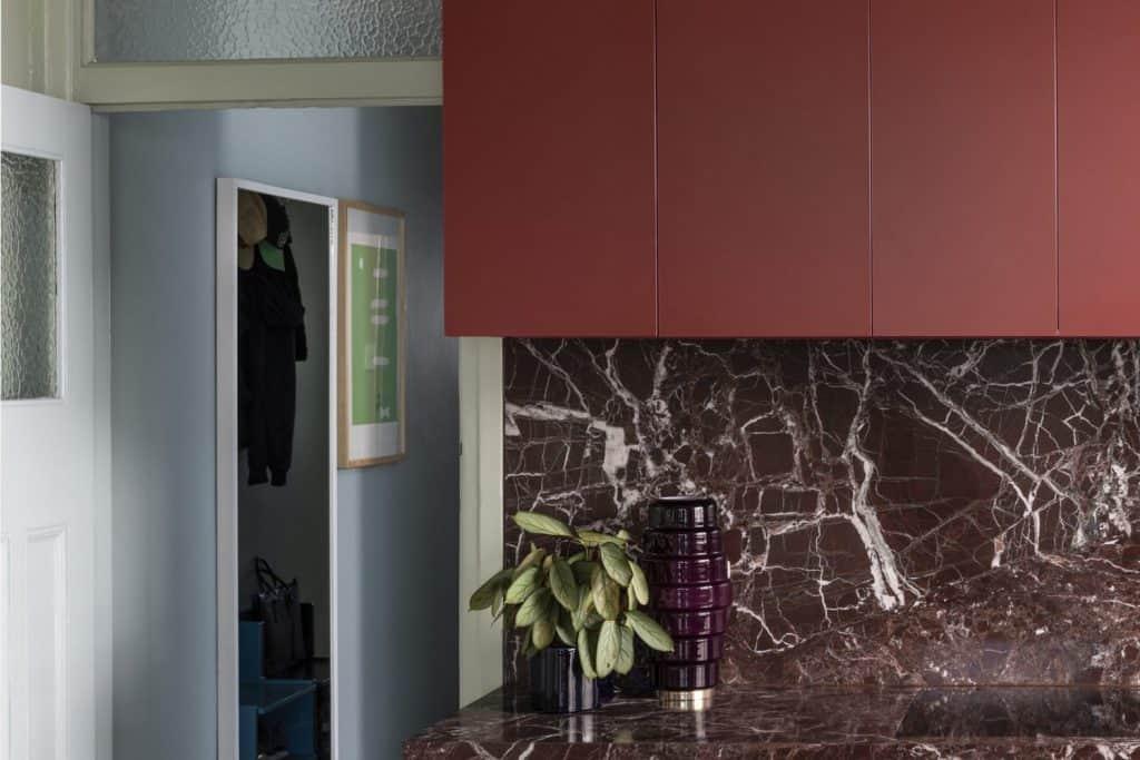 Rosso Lepanto Kitchen 2