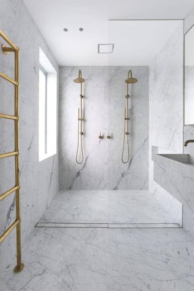 carrara gioia marble bathroom