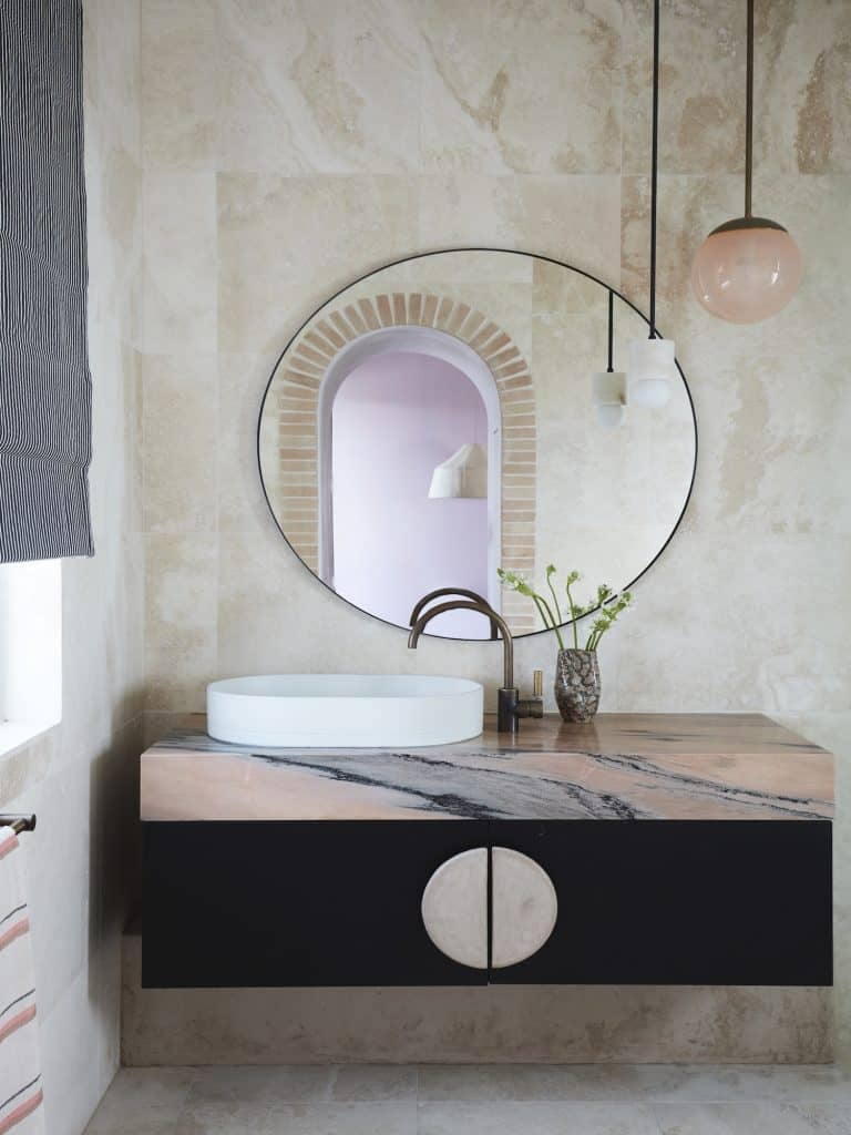 Dover Heights Rosso Portogallo Vanity