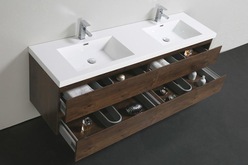 84 Floating Vanity with Sink in Rosewood Vanities 3 860x