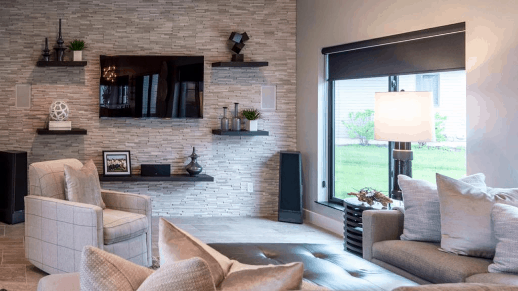 Natural Stone accent wall 1